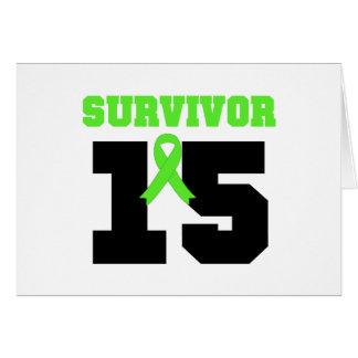 SUPERVIVIENTE del linfoma 15 años Felicitación