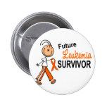 Superviviente futuro SFT de la leucemia Chapa Redonda 5 Cm