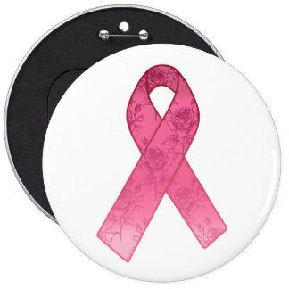 Superviviente rosado de la cinta chapa redonda de 15 cm