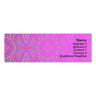 Suplente colorido del estampado de flores grande plantillas de tarjetas personales