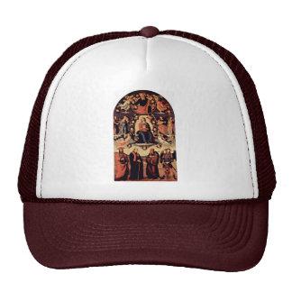 Suposición, con cuatro santos, de la izquierda: Be Gorro De Camionero