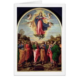 Suposición de la Virgen Tarjeta