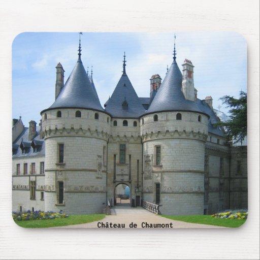 Sur el Loira de Château de Chaumont Tapete De Raton