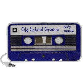 Surco de la escuela vieja/música de los años 80 PC altavoces