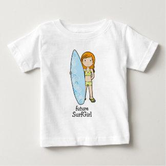 SurfGirl Camiseta De Bebé