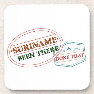 Suriname allí hecho posavasos
