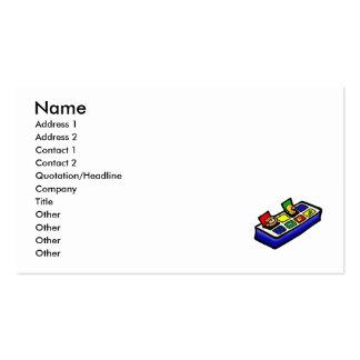 surja el juguete tarjetas de visita