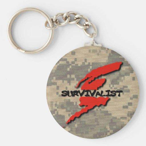 Survivalist Llaveros Personalizados