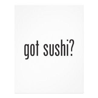 sushi conseguido folleto 21,6 x 28 cm