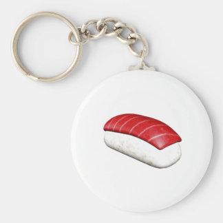Sushi de Nigiri Maguro Llaveros Personalizados
