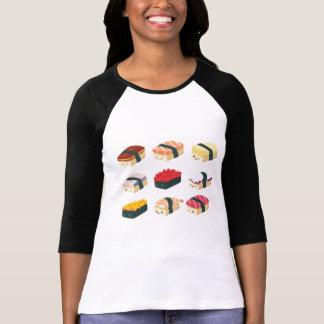 Sushi lindo camiseta