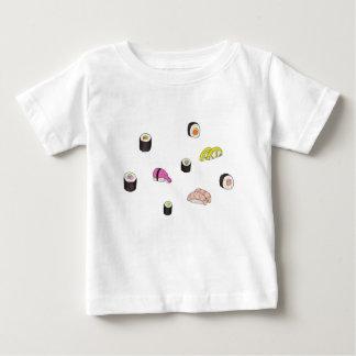 Sushi y Sashimi Camiseta De Bebé
