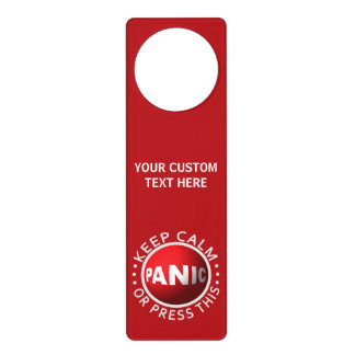 Suspensión de puerta de encargo del botón de colgante para puerta