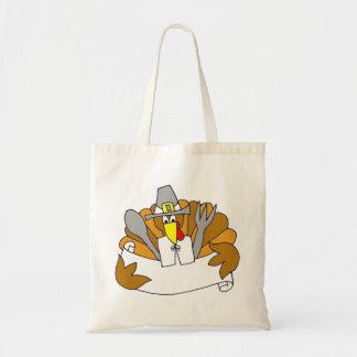 Sutilmente para Thanksgiving - Bolsa Tela Barata