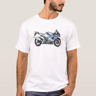 Suz GSXR1000 K3 agrietado Camiseta
