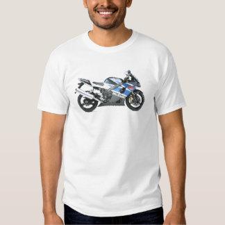 Suz GSXR1000 K3 agrietado Camisetas