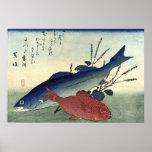 Suzuki y Kimmedai: Impresión japonesa de los