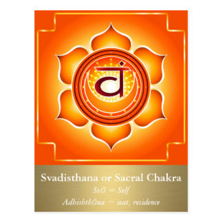 Svadisthana o postal sacra de Chakra