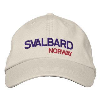 Svalbard, gorra ajustable de Norway* Gorra Bordada
