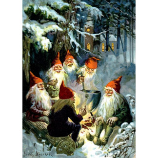 Tomte, Tonttu and Nisse