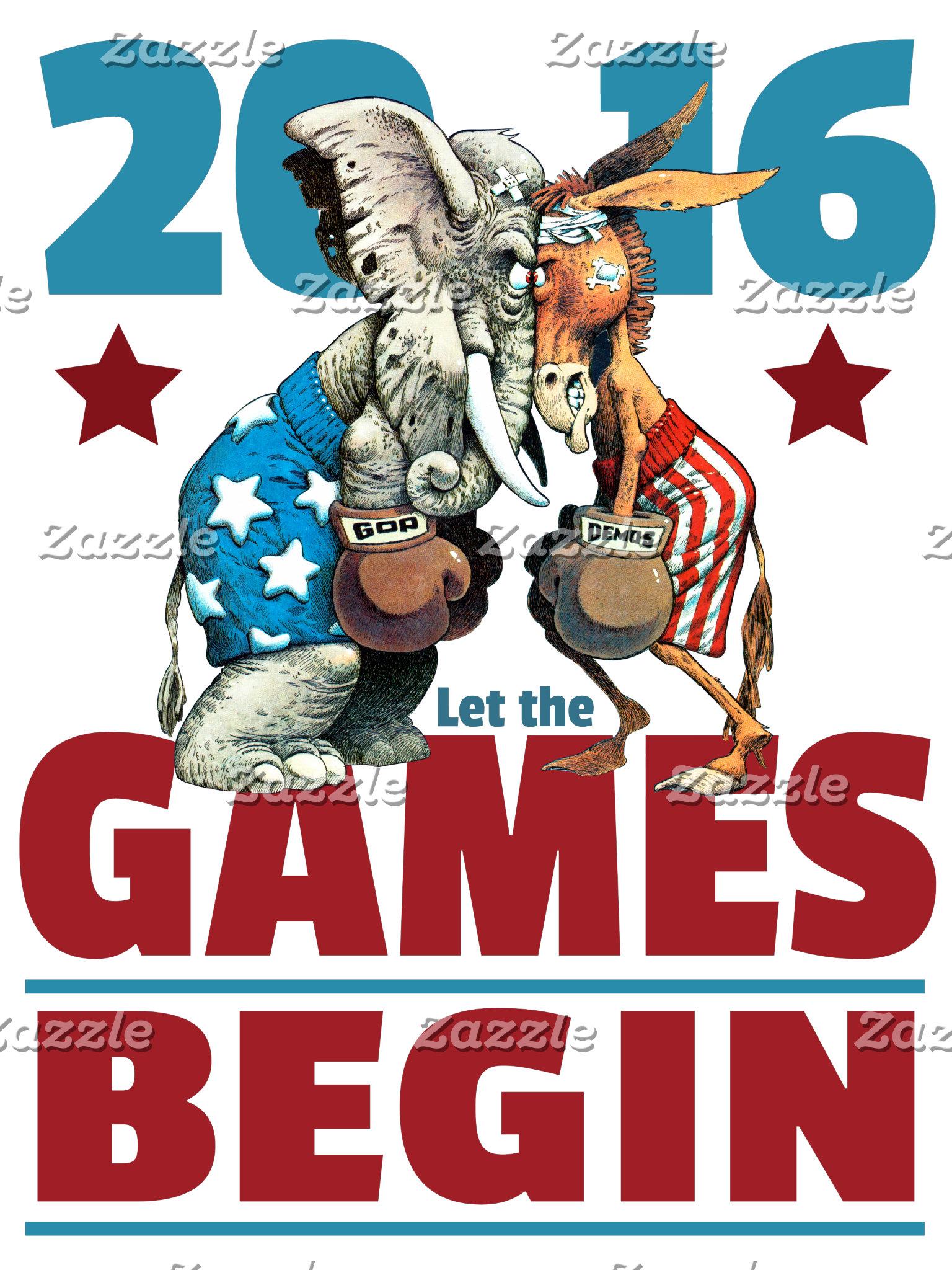 2016 - Let the Games Begin