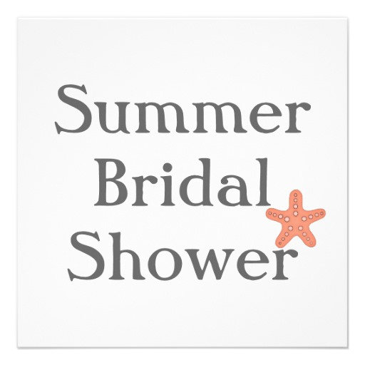 Summer Bridal Shower