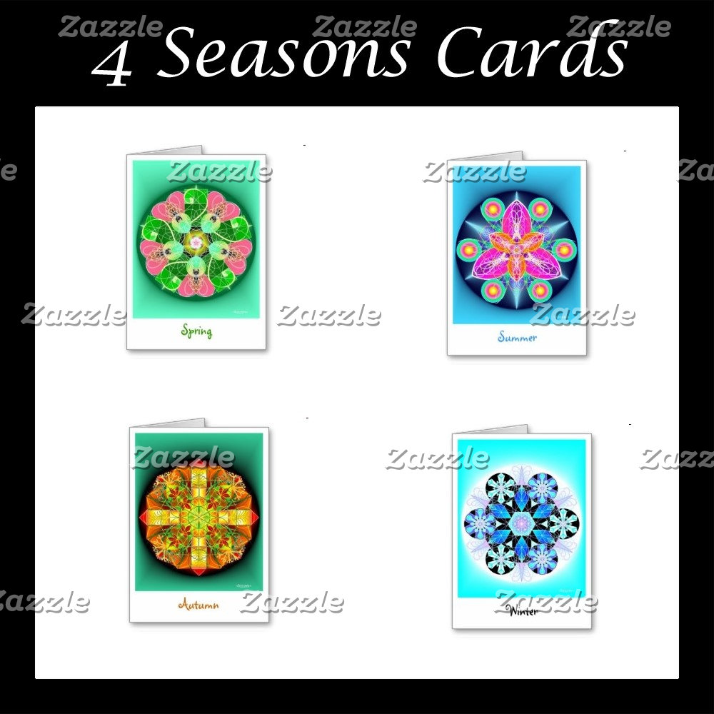 4 Seasons Cards