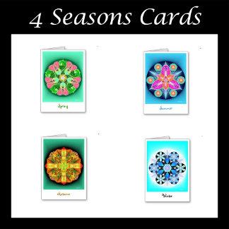 4 Seasons Cards