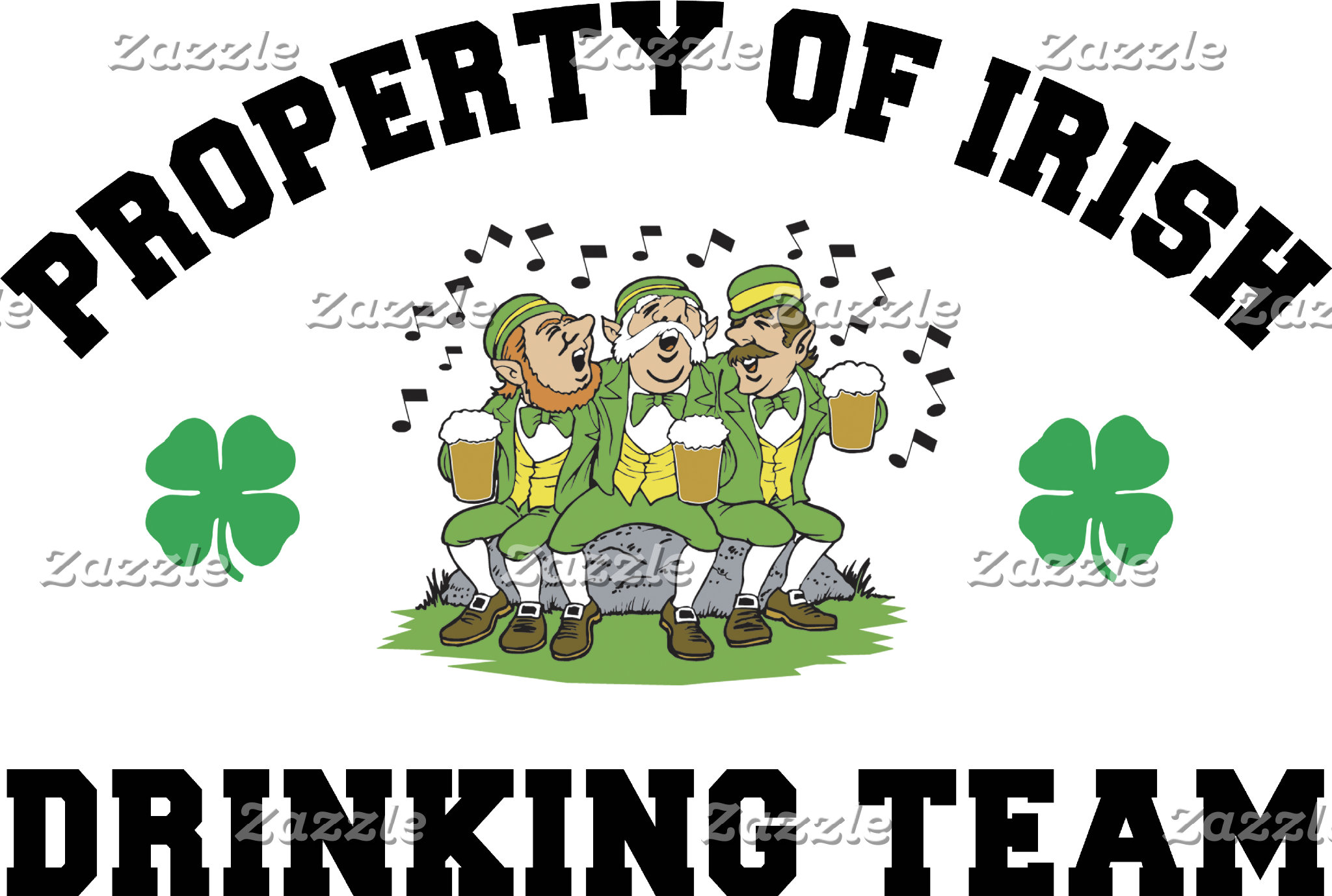 Irish Drinking Team T-Shirts