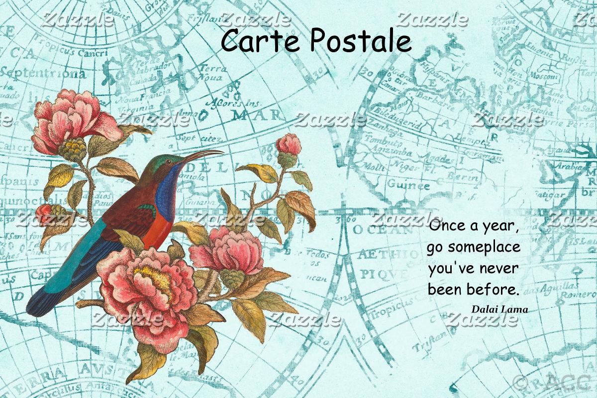 Tourist Postcard