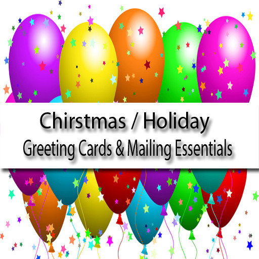 Christmas Cards Mailing Essentials Party Supplies