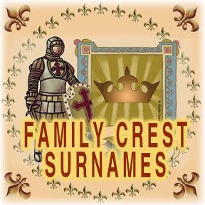 Family Crest Surnames