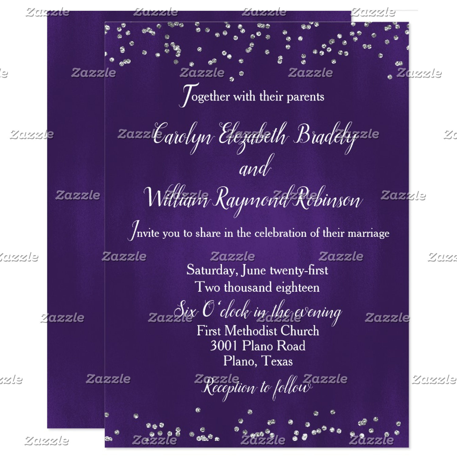 Ultra Violet Wedding Products