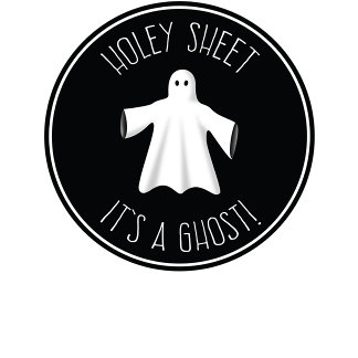 Holey Sheet - It's A Ghost !