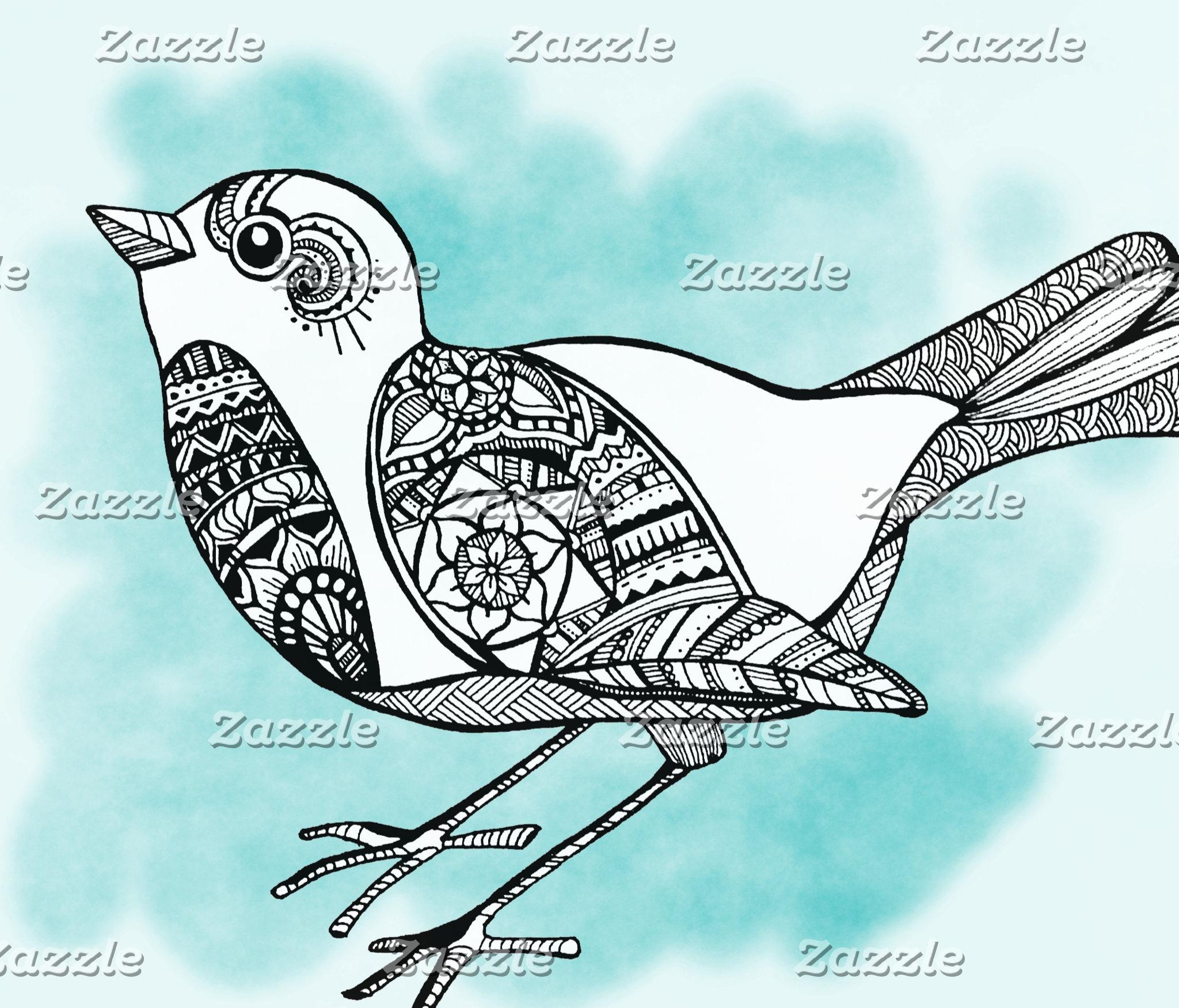Zentangle Birds