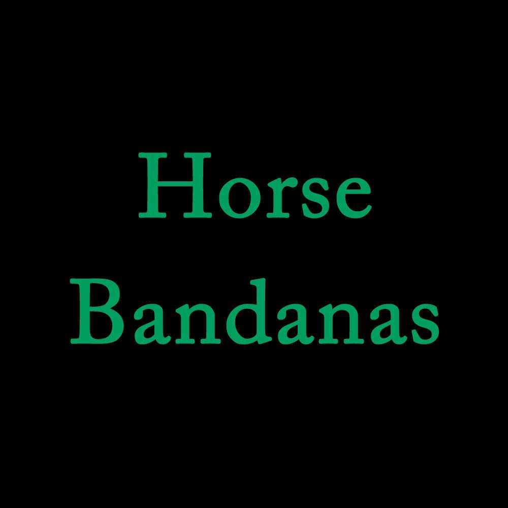 Horse Bandanas