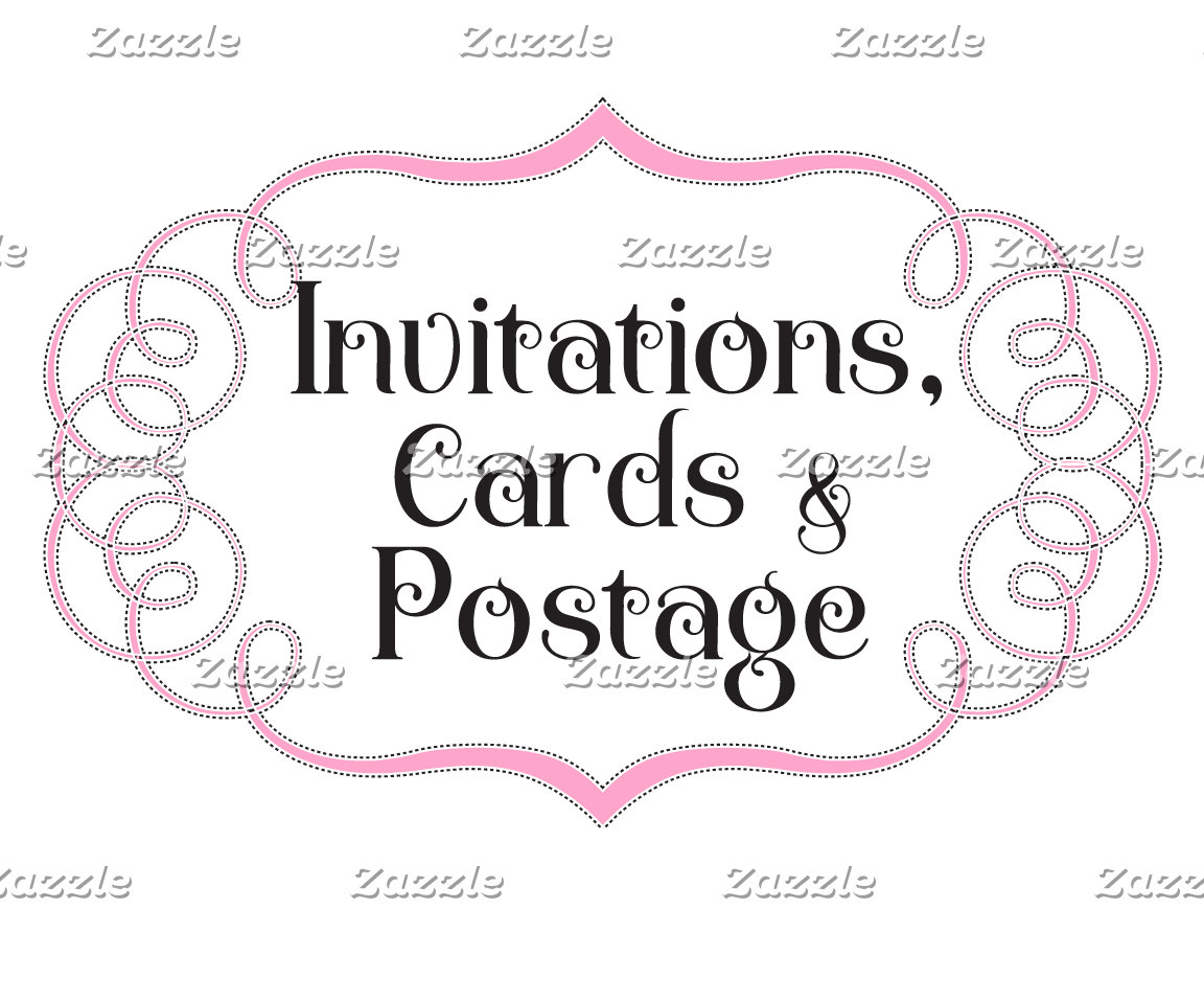 Invitations, Cards, & Postage