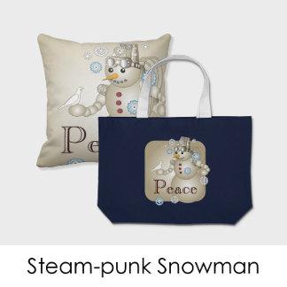 Steam-Punk Snowman