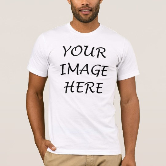 Your Image Here Men T-Shirts