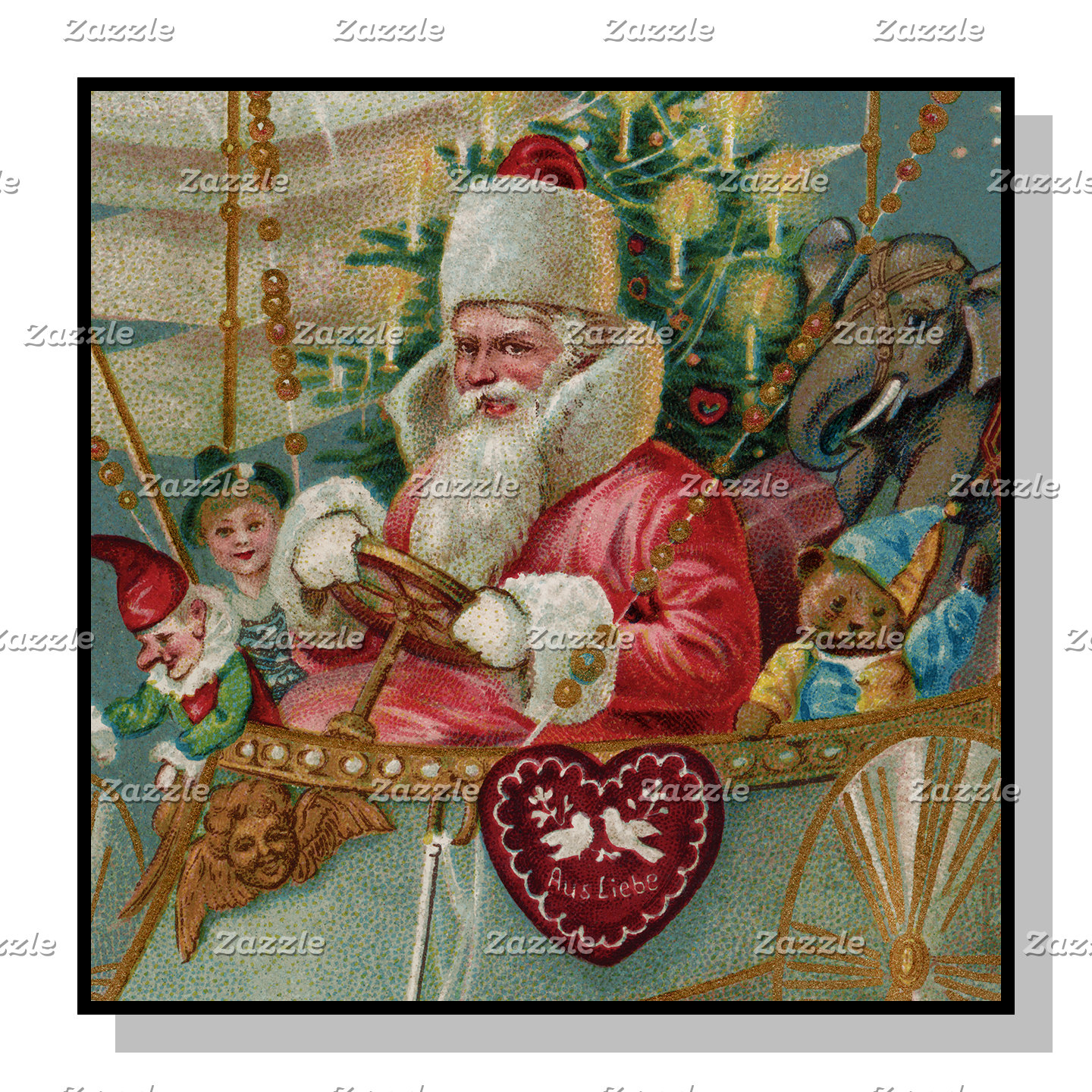 Santa & His Flying Machine