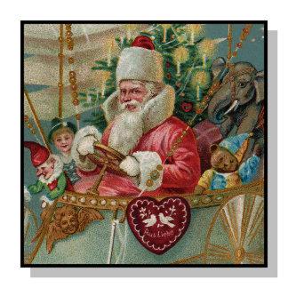 Santa & His Flying Machine