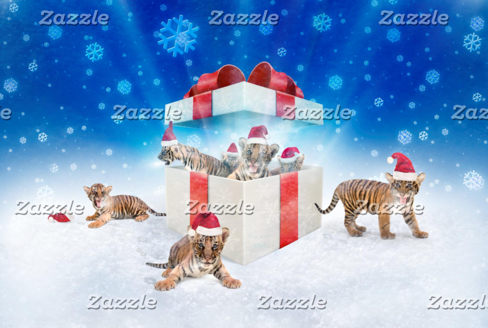 ► Sweet Christmas Tigers