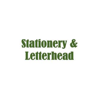 7. STATIONERY - LETTERHEAD