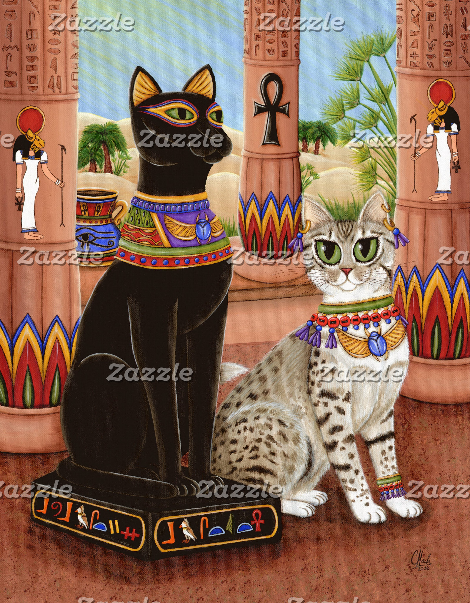 Egyptian Bast Cats
