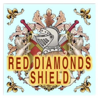 Red Diamonds Shield