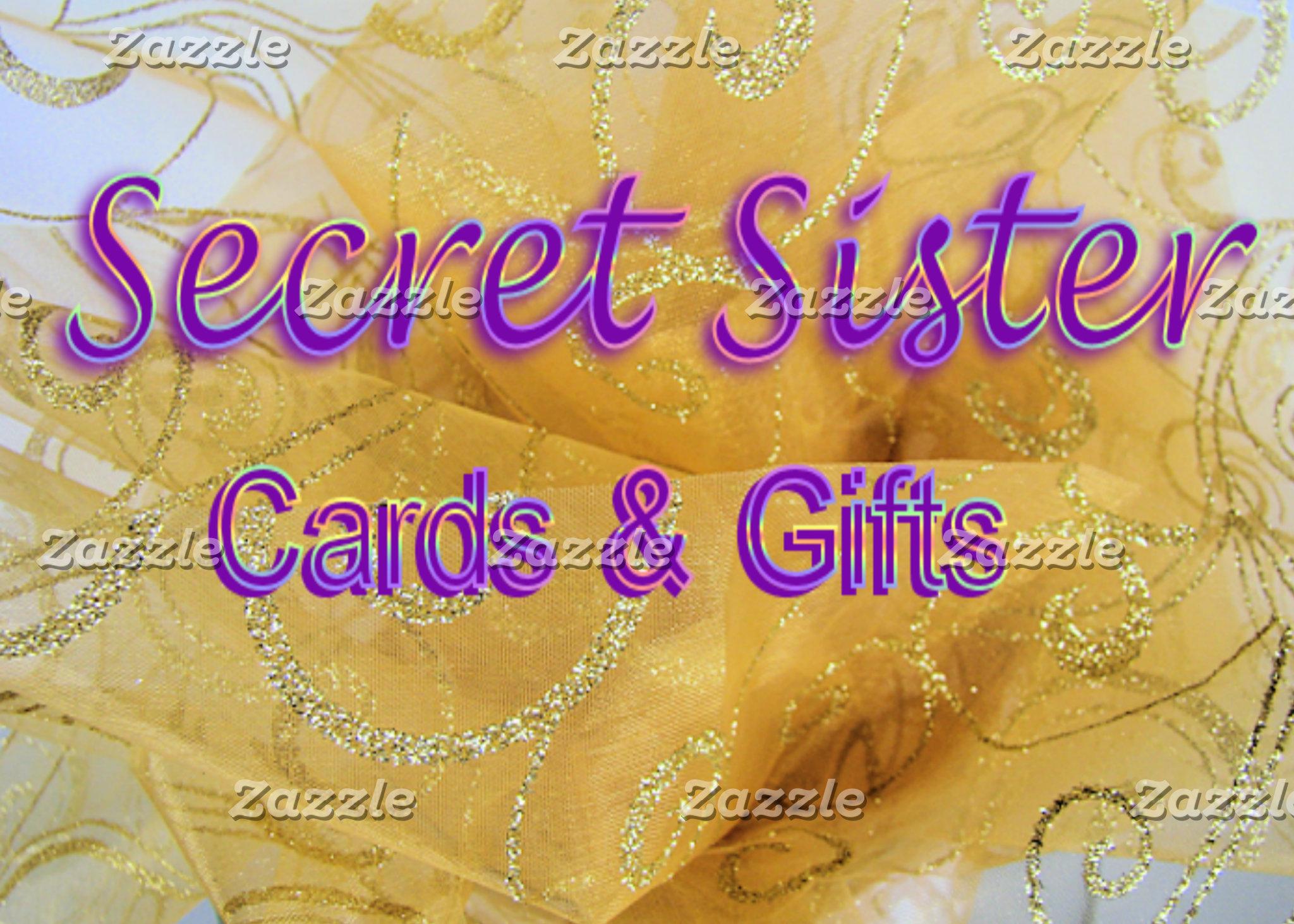 SECRET SISTER  cards & gifts