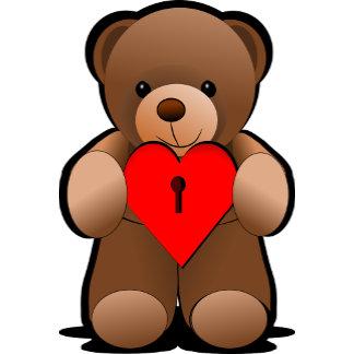 Love U Teddy Bear