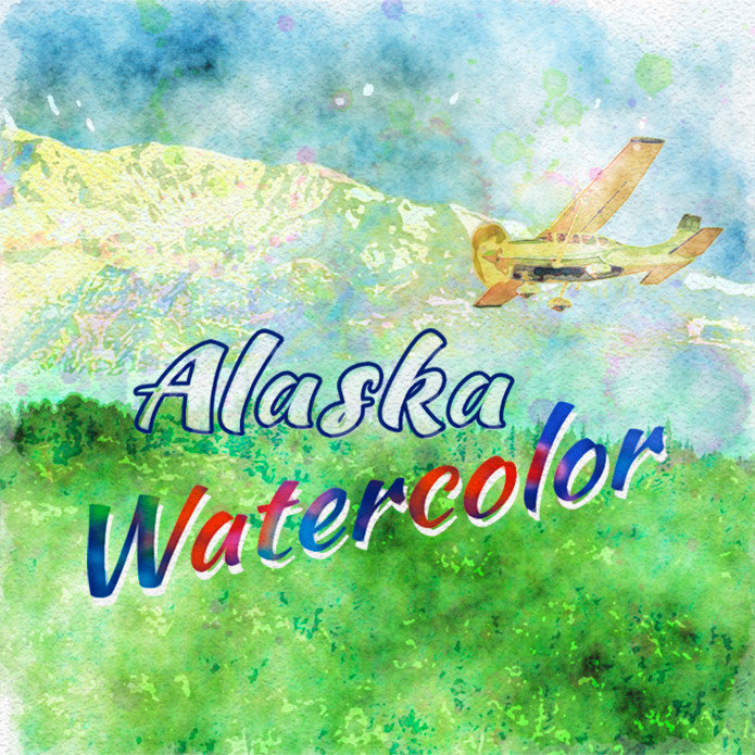 Alaska Watercolor