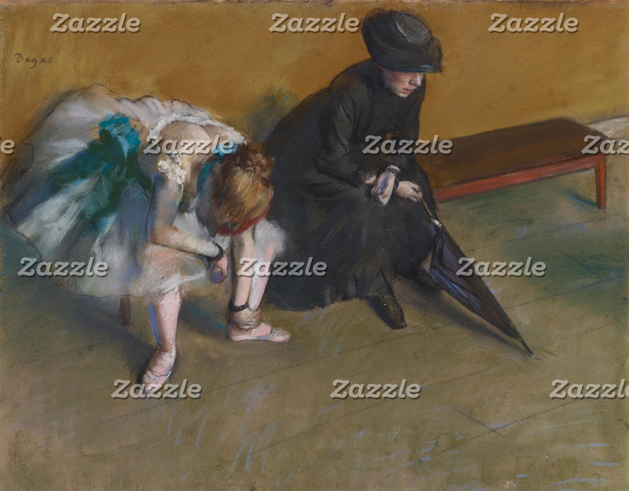 Edgar Degas   Waiting