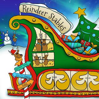 Kris Kringle The Musical's Reindeer Stables
